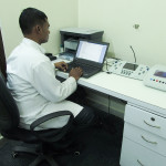 Audiology & Speech Lab in Medicaid Hospital